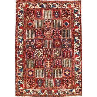 "Pasargad N Y Fine Persian Bakhtiari Pannel Design Rug Lamb's Wool Rug - 6'10"" X 10'"
