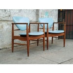 Image of Mount Airy Finn Juhl-Style Vintage Chairs - A Pair