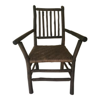 Adirondack Hickory Arm Chair