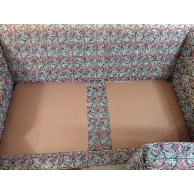 Mid-Century Milo Baughman Style Loveseat Sofa - Image 8 of 8