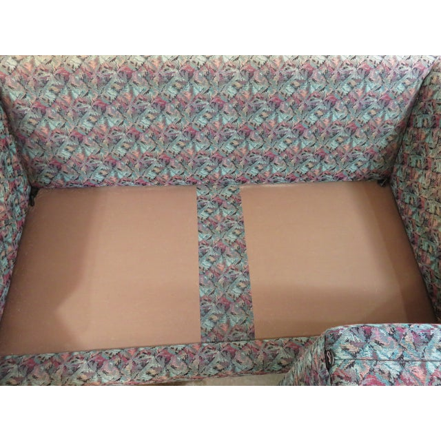 Image of Mid-Century Milo Baughman Style Loveseat Sofa
