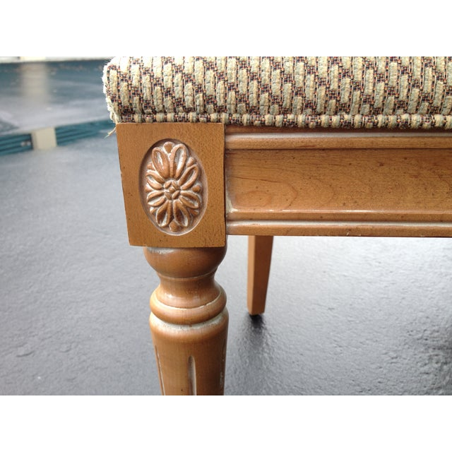 Ethan Allen Swedish Home Whitewashed Maple Dining Chairs