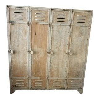 Antique French School Lockers