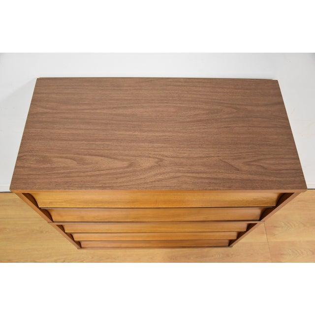 Johnson Carper Walnut and Formica Dresser - Image 5 of 7