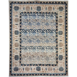 """Oushak Hand Knotted Area Rug - 8'1"""" X 10'3"""""""