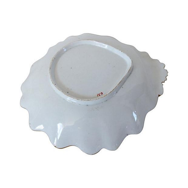 1840s English Staffordshire Victorian Serving Bowl - Image 2 of 2