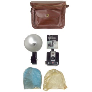 Mid-Century Hawkeye Brownie Camera Set - Set of 7