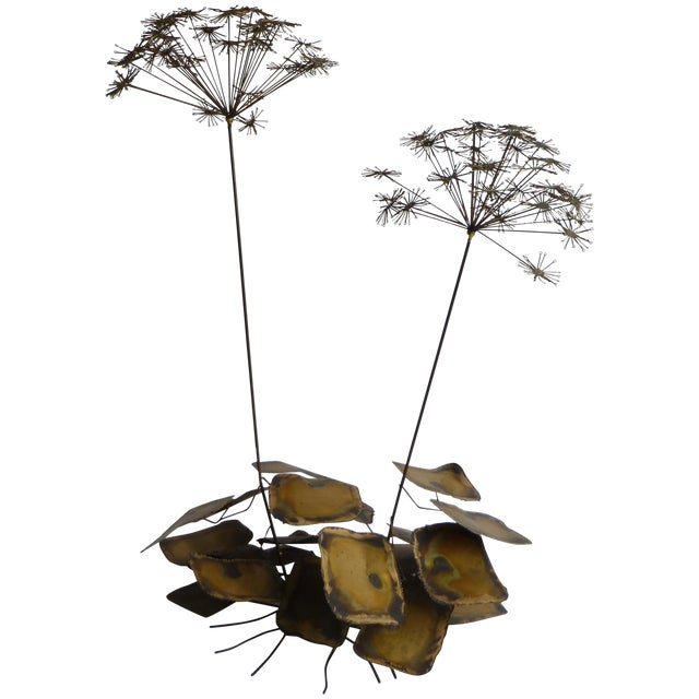 Signed Friedle Metal Wildflower Sculpture - Image 1 of 11