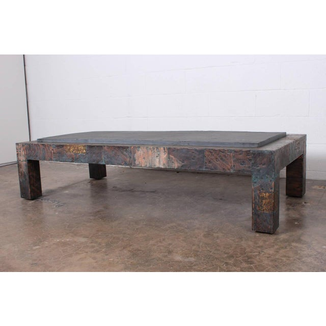 Large Patchwork Coffee Table by Paul Evans - Image 4 of 10