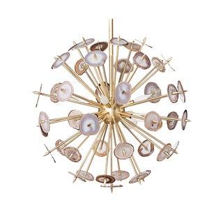 Agate Starburst Chandelier