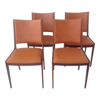 Johannes Andersen Rosewood Dining Chairs - Set of 4