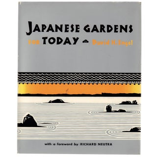 """David H. Engel """"Japanese Gardens for Today"""" 1967 Book"""