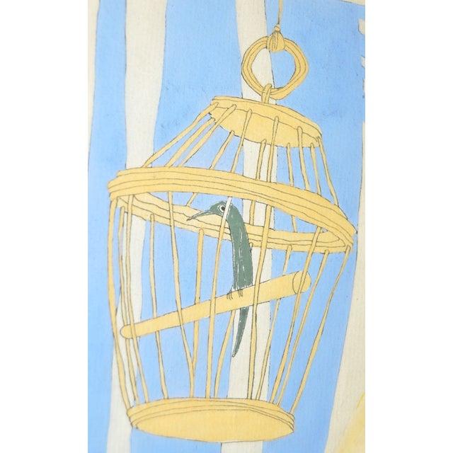 Ralph Barton (1891–1931) Art Deco Painting 1920's - Image 6 of 8