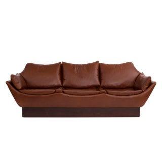 Phenomenal Danish Leather Sofa