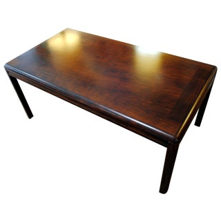 Large Danish Modern Rosewood Coffee Table