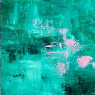 """Chris Brandell """"Hosta"""" Painting 30x30"""""""