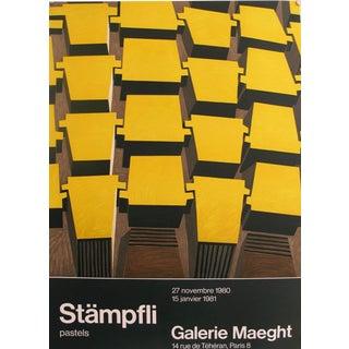 """Stämpfli """"Pastels"""" Abstract Exhibit Poster"""