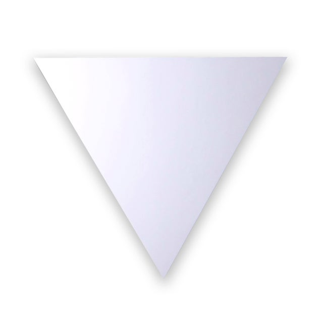 how to make wall part triangular
