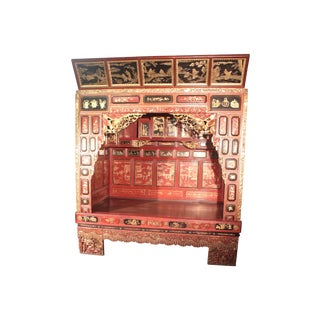Antique Chinese Ceremony Bed