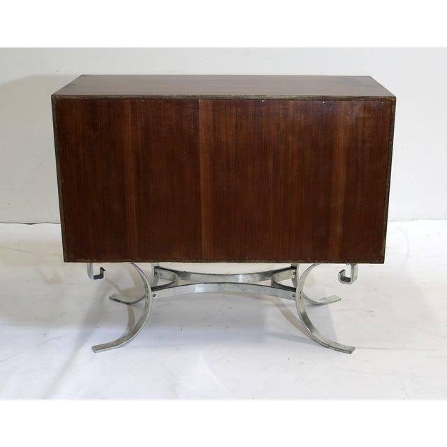Mid-Century Italian Walnut Cabinets - A Pair - Image 9 of 9
