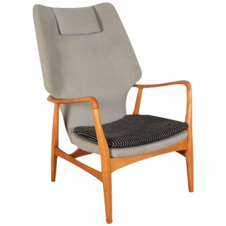 Mid-Century Wingback Chair by Mattson Schubel