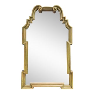Vintage LaBarge-Style Scroll Arch Mirror