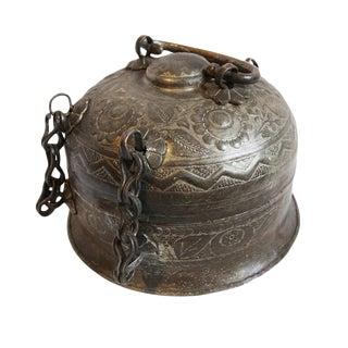 Antique Copper Chapati Box