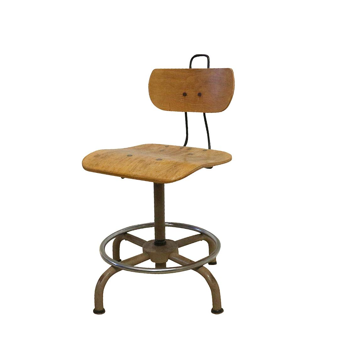1930s Industrial Science Lab Chair Chairish