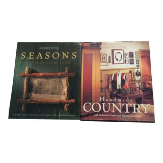 Country Living Coffee Table Books - Set of 2