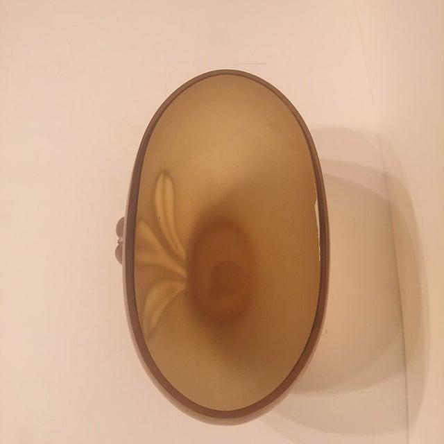 Kamei Glass Osaka Japanese Art Vase - Image 4 of 5