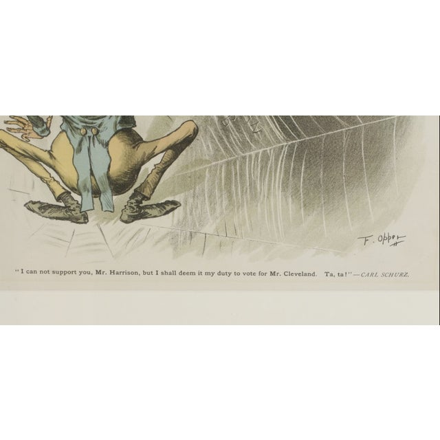 1888 Puck Political Cartoon Chromoliths - A Pair - Image 8 of 9