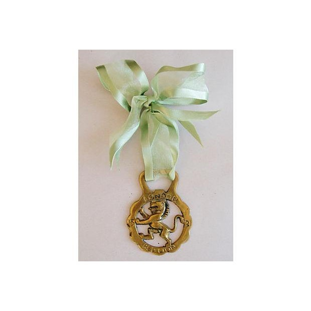 English Brass Horse Ornaments - Set of 3 - Image 4 of 6