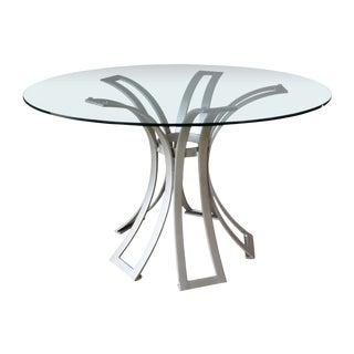 Selamat Designs Klismos Wrought Iron Dining Table Base