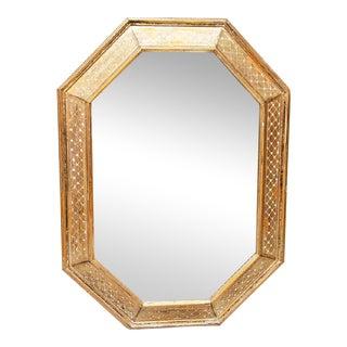 Venetian Style Octagonal Mirror