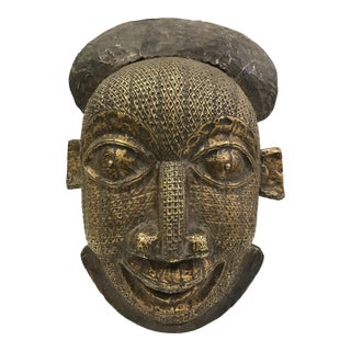 African Tribal Art Bamileke Mask From Cameroon