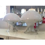 Image of Hand-Blown Lamps by Murano - A Pair
