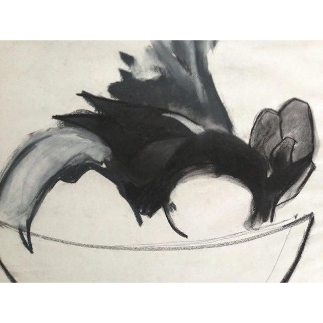 Mid-Century Charcoal Still Life Heidi Thaler - Image 3 of 4