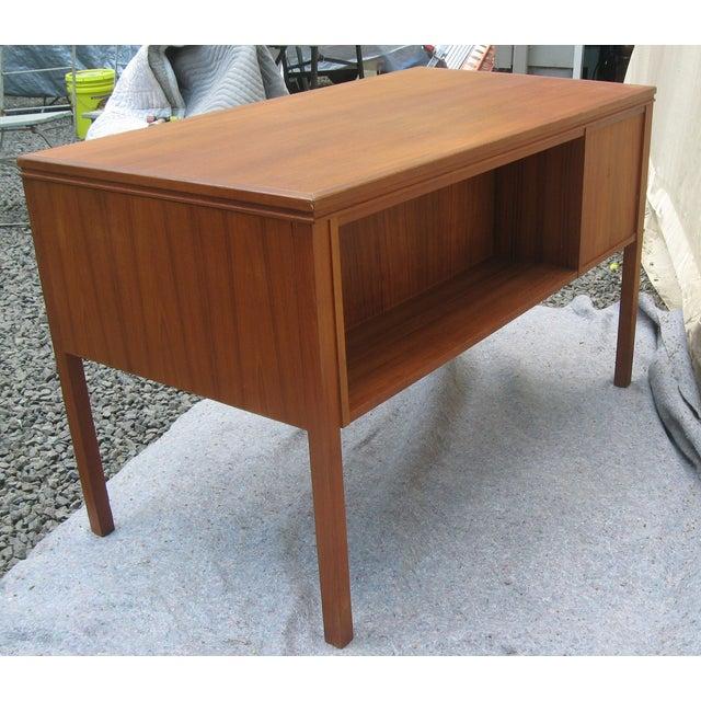Mid Century Danish Modern Desk - Image 3 of 6