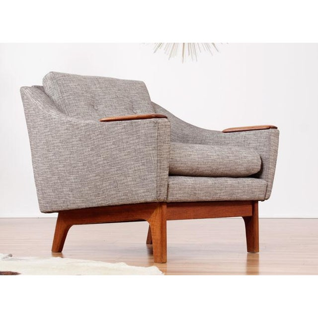Image of Restored Mid-Century Danish Teak Arm Chairs