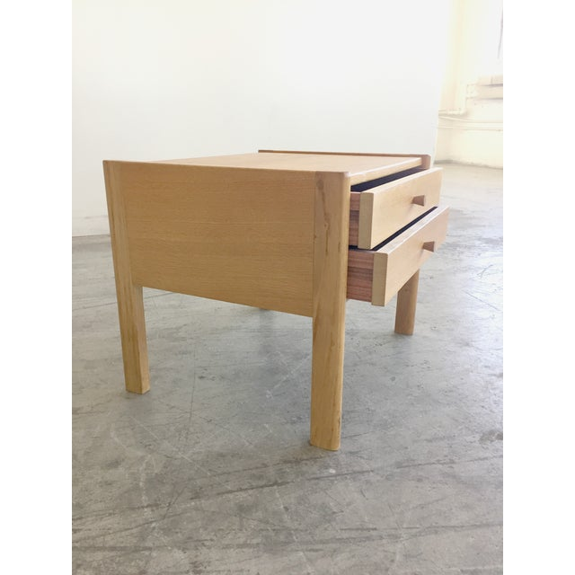 Image of Mid Century Modern Danish Bed Side Table