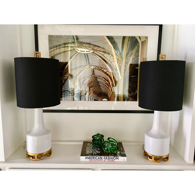 Asian Style Lamps - A Pair - Image 7 of 7