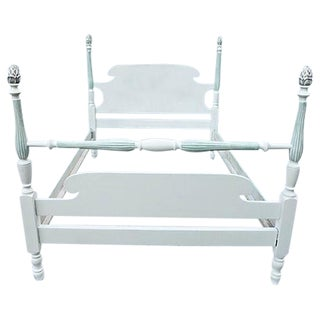 Cottage Style Painted Full Size Bed