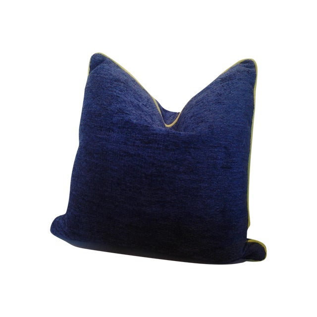 Robert Allen Custom Cobalt Blue Pillow - Image 1 of 4