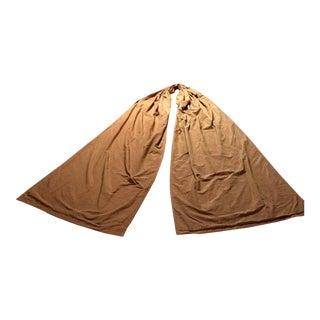 Custom Silk Drapery Canopy