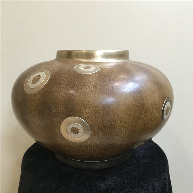Image of Brown Contemporary Vase
