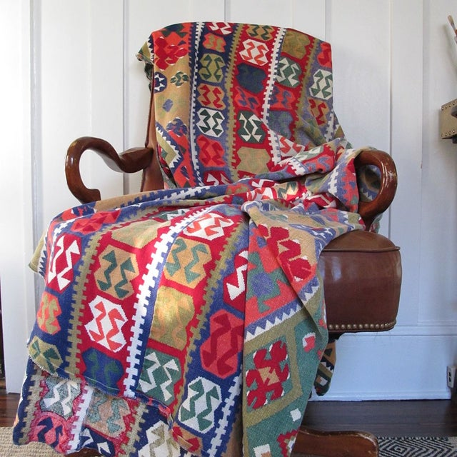 Image of Southwestern Patterned Twin Bedspread