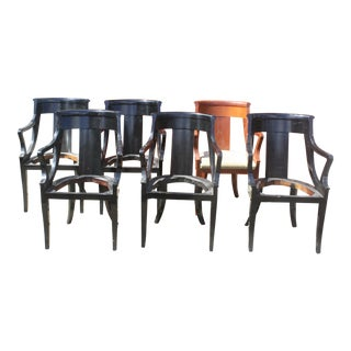 Baker Dining Armchairs - Set of 6
