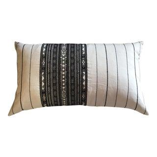 Noir Stripe Pillow
