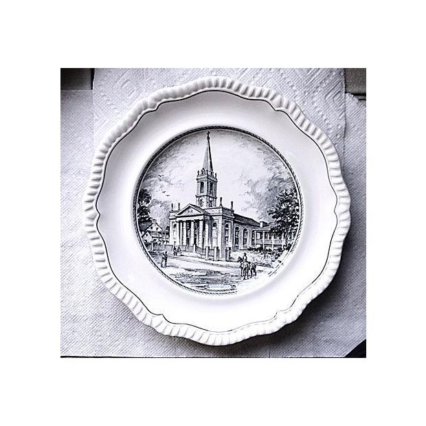 """Copeland Spode's """"The Cathedral"""" Plate - Image 2 of 5"""