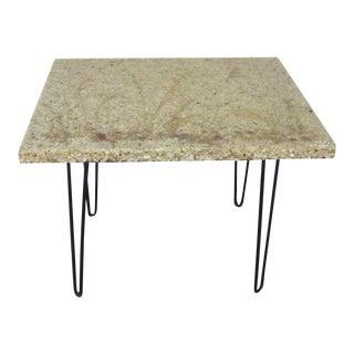 1960s Mid-Century Resin Stone Table